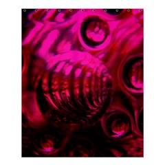 Abstract Bubble Background Shower Curtain 60  X 72  (medium)