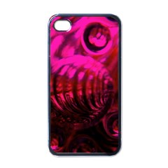 Abstract Bubble Background Apple Iphone 4 Case (black)