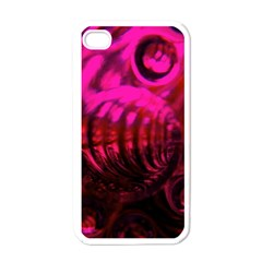 Abstract Bubble Background Apple Iphone 4 Case (white)