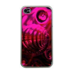 Abstract Bubble Background Apple Iphone 4 Case (clear)