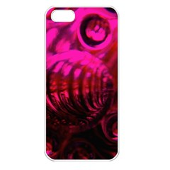Abstract Bubble Background Apple Iphone 5 Seamless Case (white)