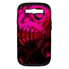 Abstract Bubble Background Samsung Galaxy S Iii Hardshell Case (pc+silicone)