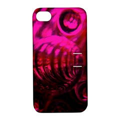 Abstract Bubble Background Apple Iphone 4/4s Hardshell Case With Stand
