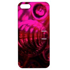 Abstract Bubble Background Apple Iphone 5 Hardshell Case With Stand