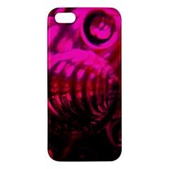 Abstract Bubble Background Apple Iphone 5 Premium Hardshell Case