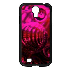 Abstract Bubble Background Samsung Galaxy S4 I9500/ I9505 Case (black)