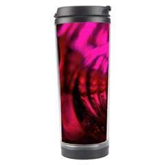Abstract Bubble Background Travel Tumbler