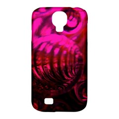 Abstract Bubble Background Samsung Galaxy S4 Classic Hardshell Case (pc+silicone)