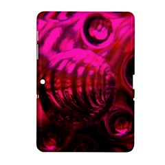 Abstract Bubble Background Samsung Galaxy Tab 2 (10.1 ) P5100 Hardshell Case