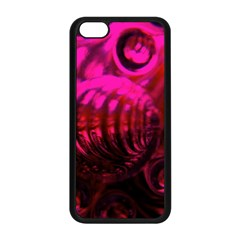 Abstract Bubble Background Apple Iphone 5c Seamless Case (black)