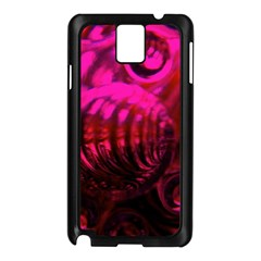 Abstract Bubble Background Samsung Galaxy Note 3 N9005 Case (black)