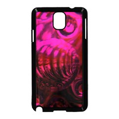 Abstract Bubble Background Samsung Galaxy Note 3 Neo Hardshell Case (black)