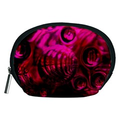 Abstract Bubble Background Accessory Pouches (medium)