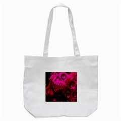 Abstract Bubble Background Tote Bag (white)