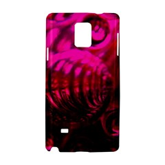 Abstract Bubble Background Samsung Galaxy Note 4 Hardshell Case