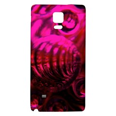 Abstract Bubble Background Galaxy Note 4 Back Case