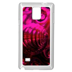 Abstract Bubble Background Samsung Galaxy Note 4 Case (white)