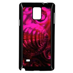 Abstract Bubble Background Samsung Galaxy Note 4 Case (Black)