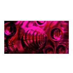 Abstract Bubble Background Satin Wrap