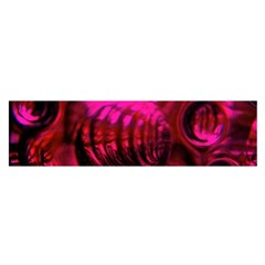 Abstract Bubble Background Satin Scarf (oblong)