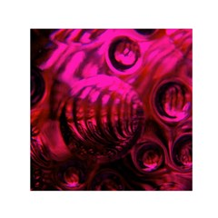 Abstract Bubble Background Small Satin Scarf (square)