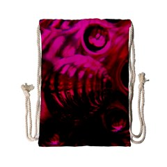 Abstract Bubble Background Drawstring Bag (small)
