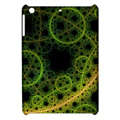 Abstract Circles Yellow Black Apple Ipad Mini Hardshell Case