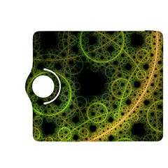 Abstract Circles Yellow Black Kindle Fire Hdx 8 9  Flip 360 Case