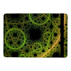 Abstract Circles Yellow Black Samsung Galaxy Tab Pro 10 1  Flip Case