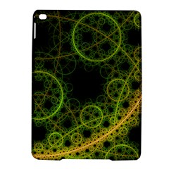 Abstract Circles Yellow Black Ipad Air 2 Hardshell Cases