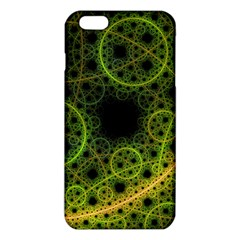 Abstract Circles Yellow Black iPhone 6 Plus/6S Plus TPU Case