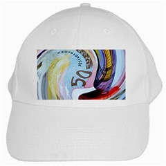 Abstract Currency Background White Cap