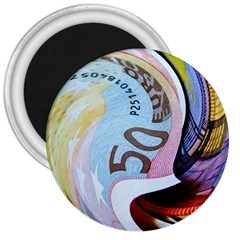 Abstract Currency Background 3  Magnets