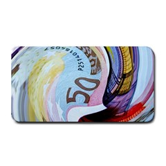 Abstract Currency Background Medium Bar Mats