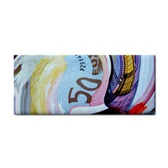 Abstract Currency Background Cosmetic Storage Cases