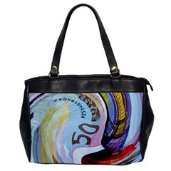Abstract Currency Background Office Handbags