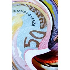 Abstract Currency Background 5 5  X 8 5  Notebooks