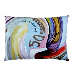 Abstract Currency Background Pillow Case (two Sides)