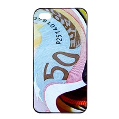 Abstract Currency Background Apple Iphone 4/4s Seamless Case (black)