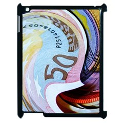 Abstract Currency Background Apple Ipad 2 Case (black)