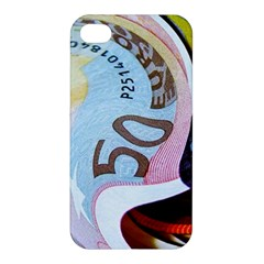 Abstract Currency Background Apple Iphone 4/4s Premium Hardshell Case