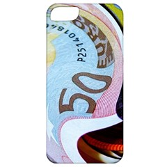 Abstract Currency Background Apple Iphone 5 Classic Hardshell Case