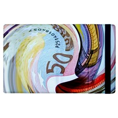 Abstract Currency Background Apple Ipad 2 Flip Case