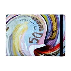 Abstract Currency Background Apple Ipad Mini Flip Case
