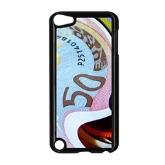 Abstract Currency Background Apple Ipod Touch 5 Case (black)