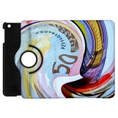 Abstract Currency Background Apple Ipad Mini Flip 360 Case