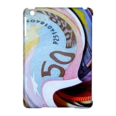Abstract Currency Background Apple Ipad Mini Hardshell Case (compatible With Smart Cover)