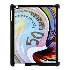 Abstract Currency Background Apple Ipad 3/4 Case (black)