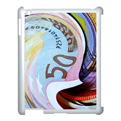 Abstract Currency Background Apple Ipad 3/4 Case (white)