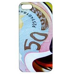 Abstract Currency Background Apple Iphone 5 Hardshell Case With Stand